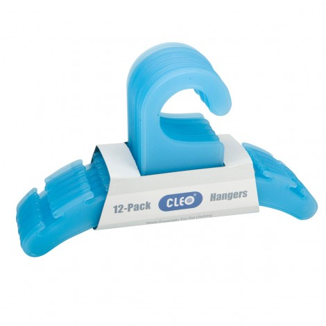 CLEO Semi-Translucent Hangers Berry Blue