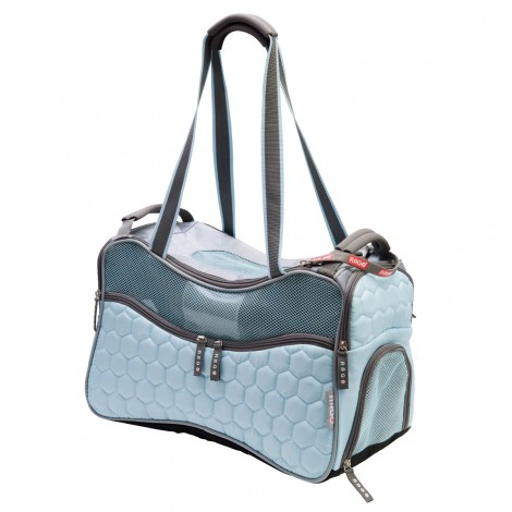 ARGO Petagon Airline Approved Carrier Maldives Blue Medium - 17.75 in