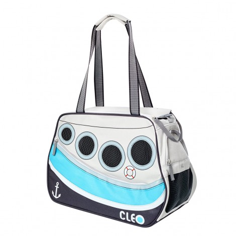 CLEO Petoboat Airline Approved Ocean Blue Medium - 19 in