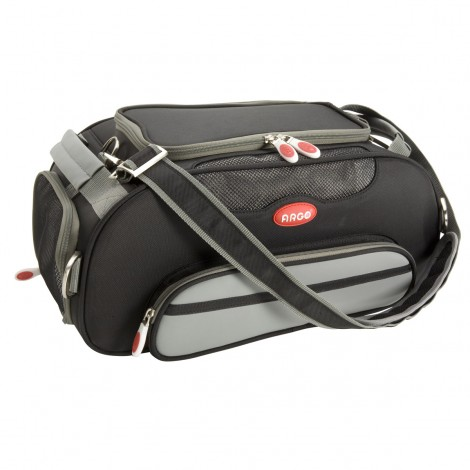 ARGO Aero-Pet Airline Approved Carrier Black Small - 18.5 in