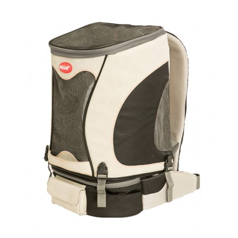 ARGO Petpack Air Airline Approved Carrier Black Small - 14.5 in