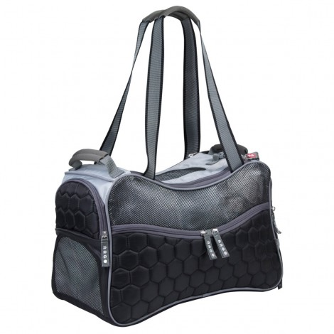 ARGO Petagon Airline Approved Carrier Black Medium - 17.75 in
