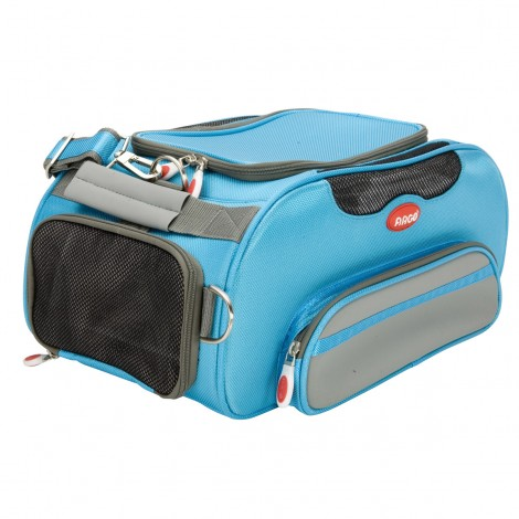 ARGO Aero-Pet Airline Approved Carrier Berry Blue Large - 20 in