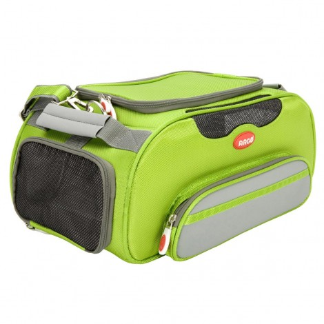 ARGO Aero-Pet Airline Approved Carrier Kiwi Green Large - 20 in