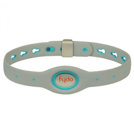 FYDO Solid Gray Water Resistant Collar Berry Blue Large