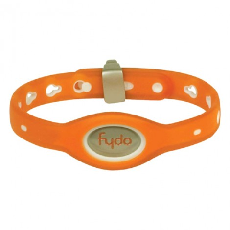 FYDO Translucent Water Resistant Collar Tango Orange Small