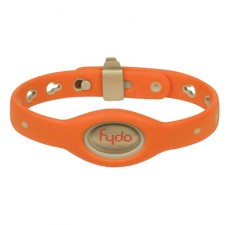 FYDO Solid Water Resistant Collar Tango Orange Small