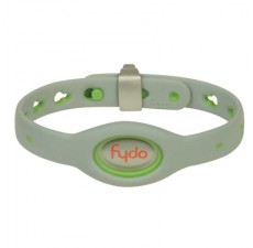 FYDO Solid Gray Water Resistant Collar Kiwi Green Small
