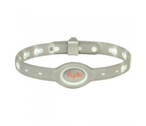 FYDO Translucent Water Resistant Collar Gray Medium