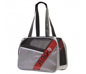 ARGO City-Pet Airline Approved Carrier Gray With White Trim Medium - 16.5 in