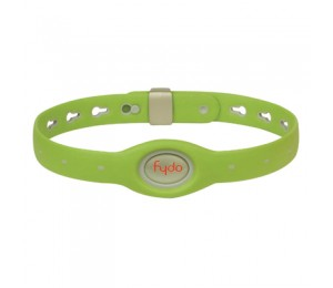 FYDO Solid Water Resistant Collar Kiwi Green Large
