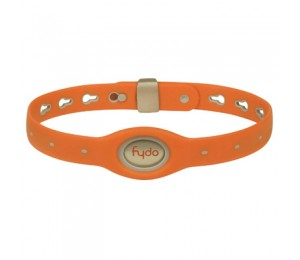 FYDO Solid Water Resistant Collar Tango Orange Large