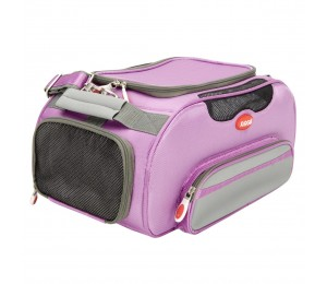 ARGO Aero-Pet Airline Approved Carrier Petal Pink Large - 20 in