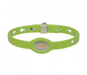 FYDO Solid Water Resistant Collar Kiwi Green Medium