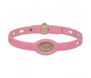 FYDO Solid Water Resistant Collar Petal Pink Medium