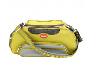 ARGO Aero-Pet Airline Approved Carrier Sherbet Yellow Small - 18.5 in