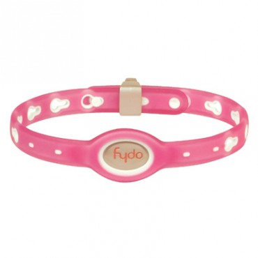 FYDO Translucent Water Resistant Collar Petal Pink Medium