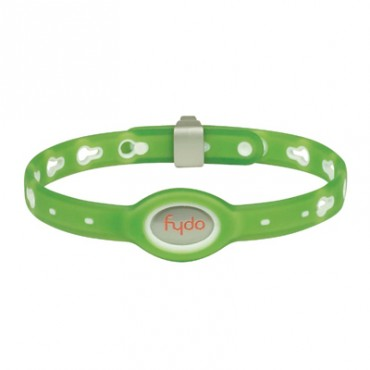 FYDO Translucent Water Resistant Collar Kiwi Green Medium