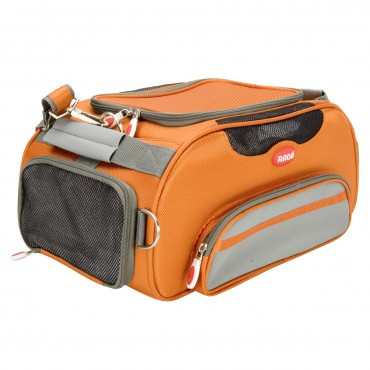 ARGO Aero-Pet Airline Approved Carrier Tango Orange Small - 18.5 in