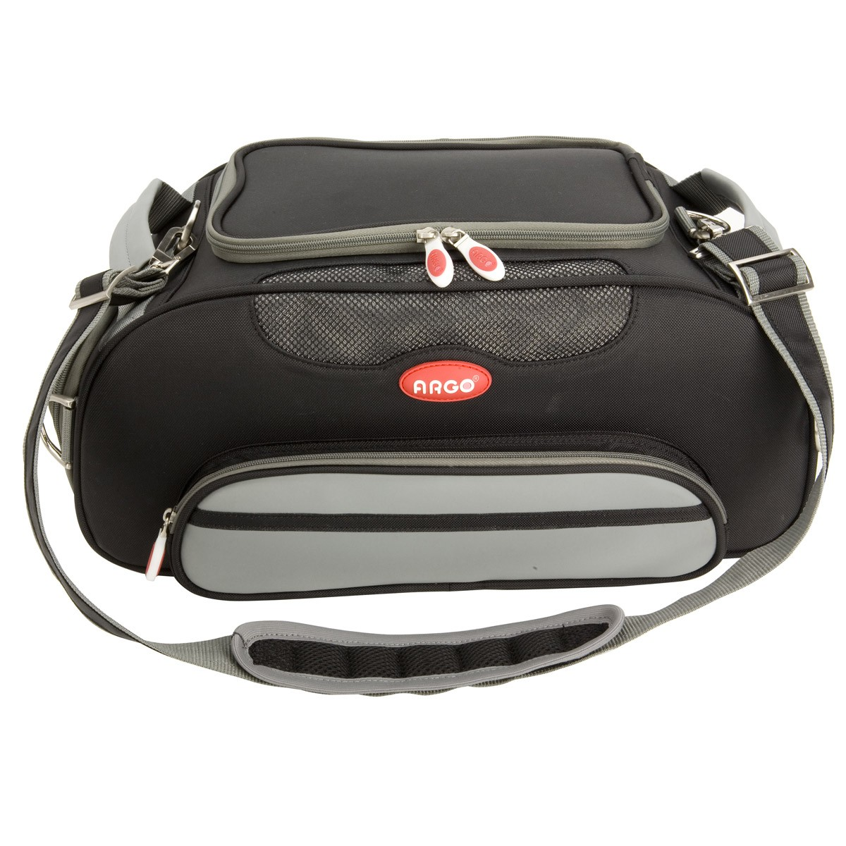 03d2aaf8bb ARGO Aero-Pet Airline Approved Carrier Black Small - 18.5 in
