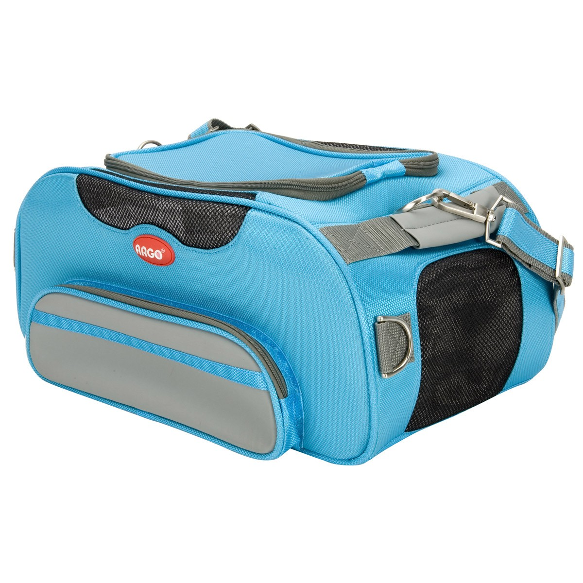 e3110d2957 ARGO Aero-Pet Airline Approved Carrier Berry Blue Small - 18.5 in · Zoom