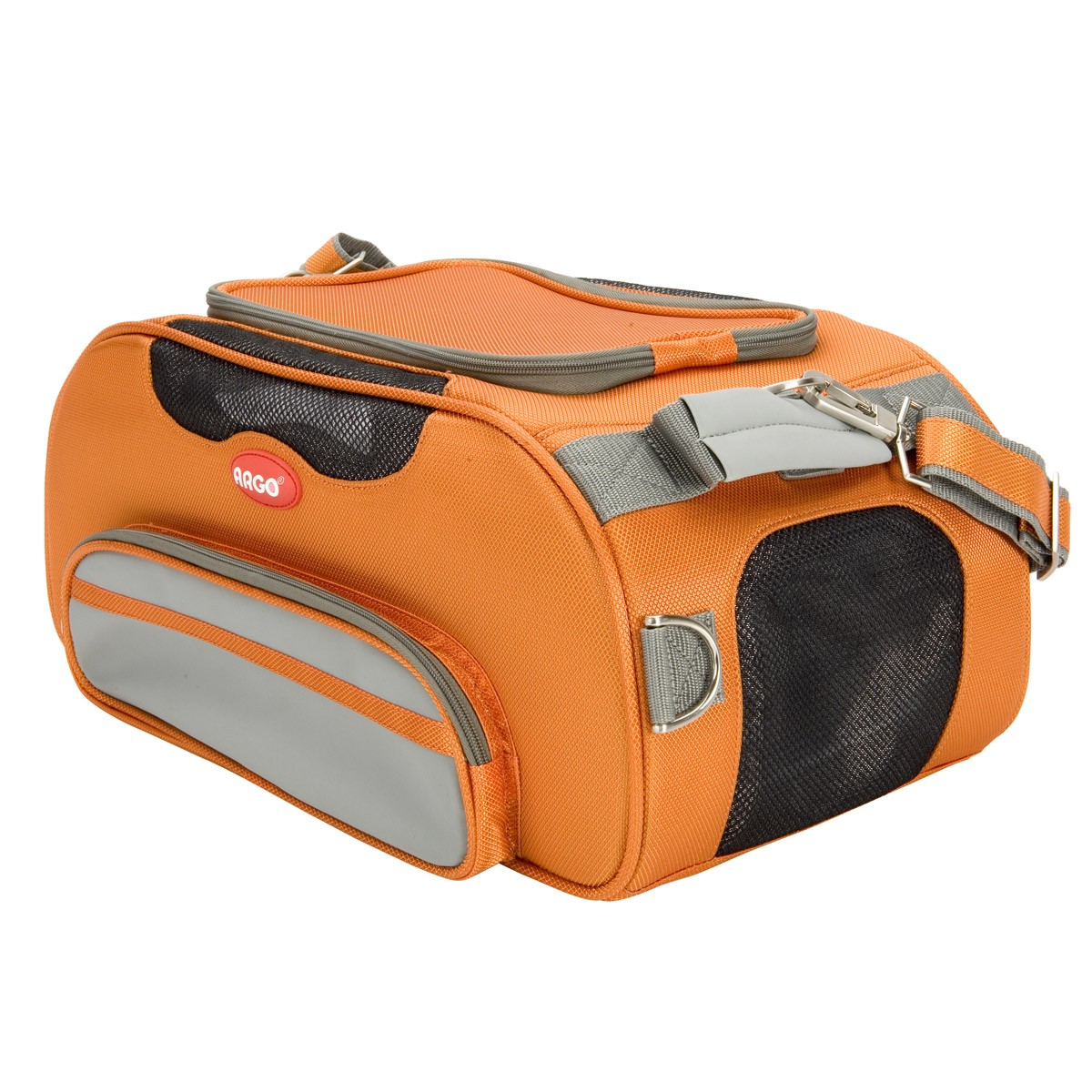 b361ebb1eb ARGO Aero-Pet Airline Approved Carrier Tango Orange Small - 18.5 in · Zoom